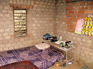 Jency Raju's room at Idinjar